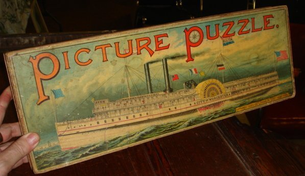 2083: McLaughlin Brothers 1889 picture puzzle City of W