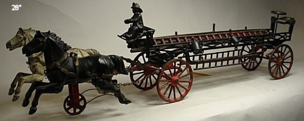 2088: Ives horse drawn wagon, cast iron