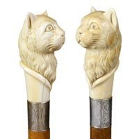 2: Carved Ivory Cat
