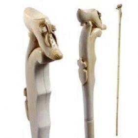 3: Carved Ivory Shoe