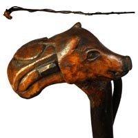 15: Folk Art Pig Dog