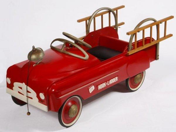 61: Pedal Car Fire Truck