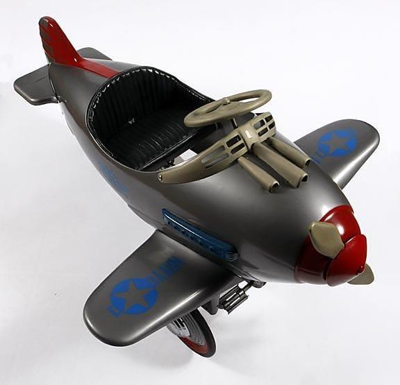 63: Pedal Car Airplane