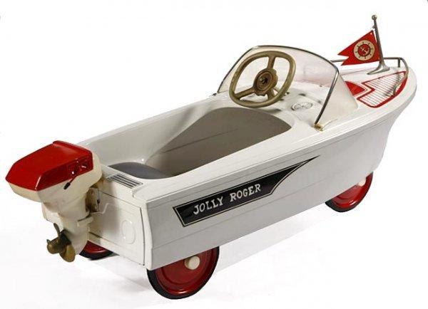 75: Pedal Car-Jolly Roger Boat