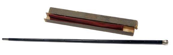 8: Sterling Folding Cane - 2