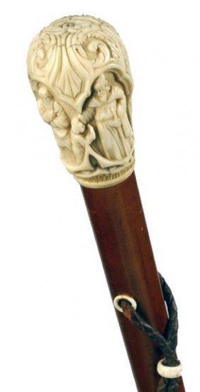Ornate Ivory Dress Cane