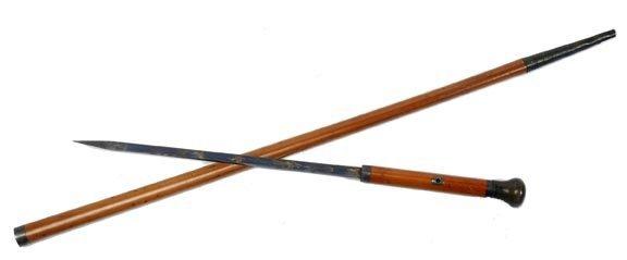 15: Horn Sword Cane
