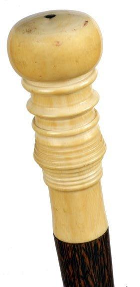 17: Nautical Ivory Dress Cane
