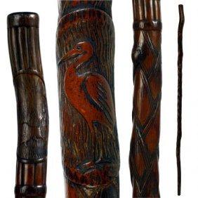 Indiana Folk Art Cane