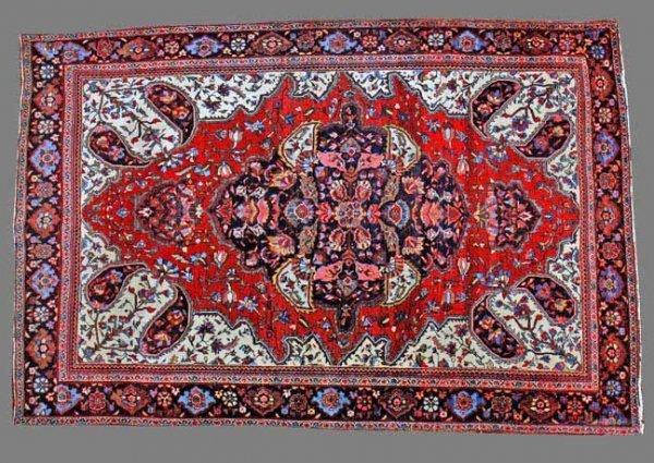 82:Antique  Feraghan Sarouk Carpet