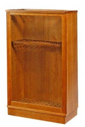 3: Oak Cane Case-Circa 1975-A 56 compartment cane case
