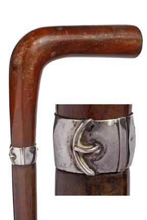14: Victory Dress Cane-Early 20th Century-An American w