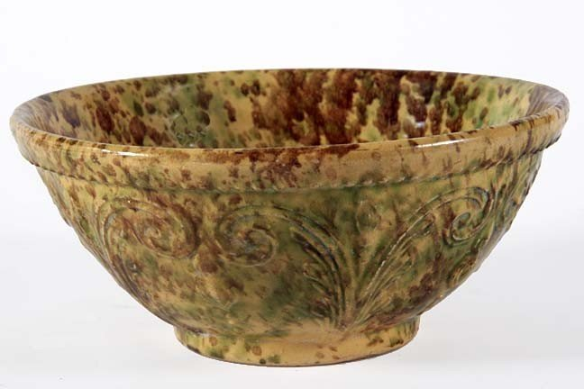 """11: Mixing bowl-nicely decorated in fine condition, 10"""""""