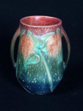 13: Roseville Sunflower Vase