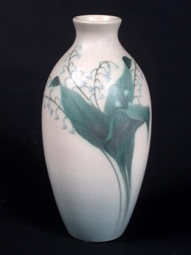15: Rookwood Double Vellum Vase