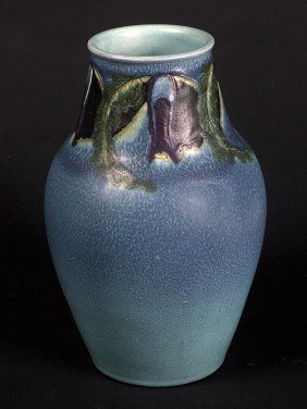 Rookwood Carved And Painted Matt Vase