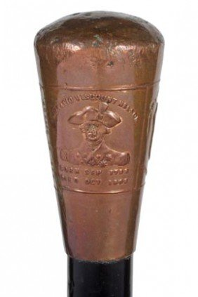 24: Antique Nautical cane-Foudroyant-Admiral Nelson