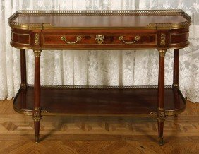 17. French Console Table-Late 19th Century-A Finely