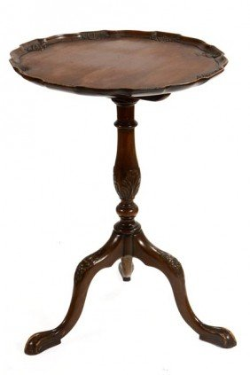 23. Continental Tilt-Top Table-Late 19th Century-A