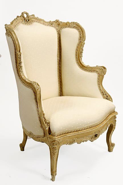 24: 24. Fauteuil Chair-Early 20th Century-This chair is