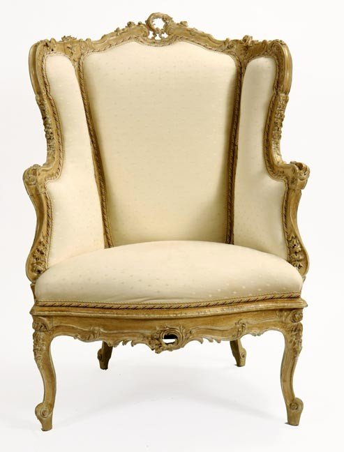 25: 25. Fauteuil Chair-Early 20th Century-This chair is