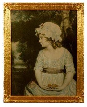 35. Antique Print-Circa 1900-A Print Of A Young Lad