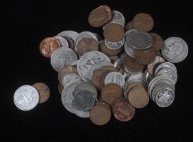 2. Box Of Assorted Coins