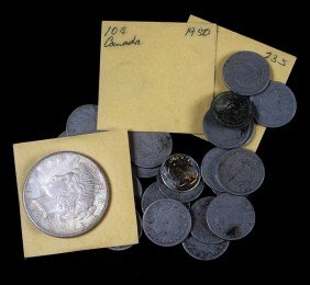 3. Box of assorted coins