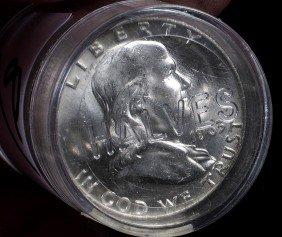 8. Nine Dollars Face Value-Franklin Halves