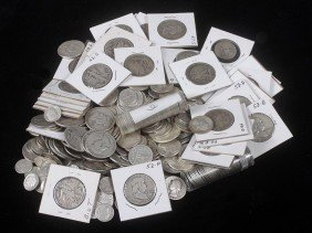 80. $100 Dollars Face Silver