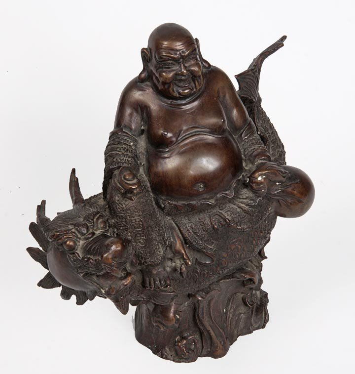 1: 1. Japanese Bronze-Mid 20th Century-An unsigned Japa