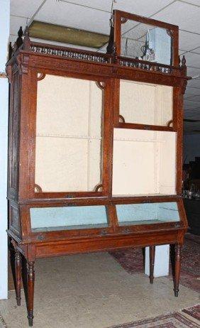 59: 59. Winchester Style, hardware store gun cabinet