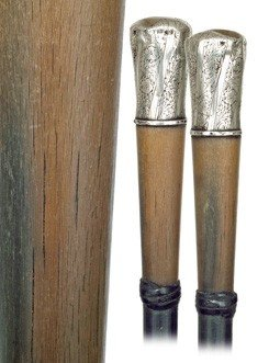 5: Staff Cane-English, first half of the 19th Century-A