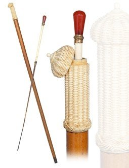 16: Intimate Games Whip Cane-Most Likely French, late 1