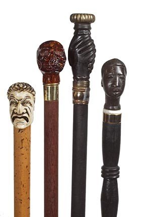 13: 13. Cane Collection-Early to Mid 20th Century-A gro