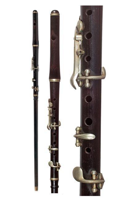 128: 128. Flute/Piccolo System Stick-Circa early 20th C