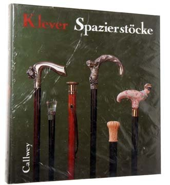 "75. ""Spazierstocke"" by Ulrich Klever.  This book is in"