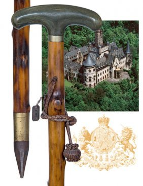 9. Countryside Cane Of Royal Provenance �1028�-C