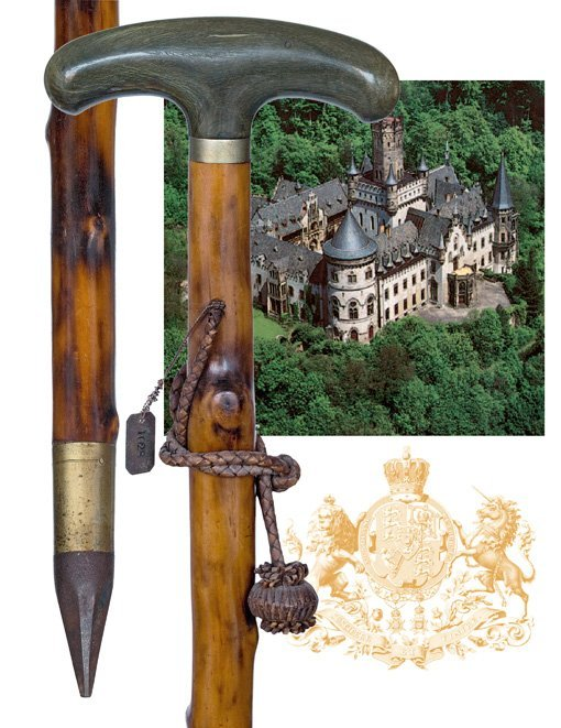 9: 9. Countryside Cane of Royal Provenance �1028�-C