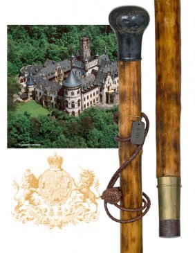 10: 10. Countryside Cane of Royal Provenance �1030�