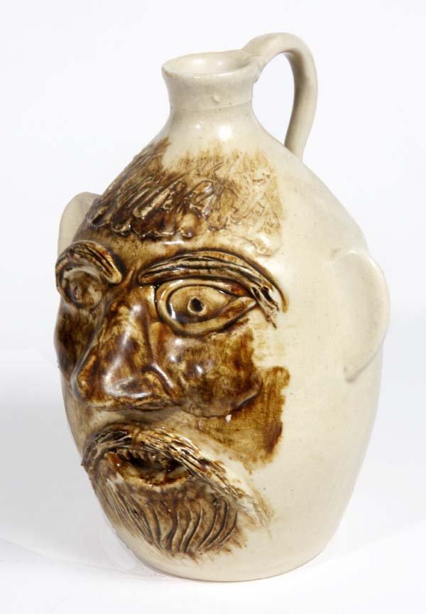Southern Folk Pottery-John Garrow- Black Mountain NC, 1