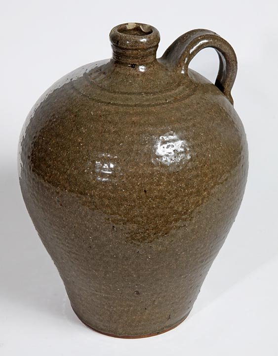 Southern Folk Pottery-Steve Abee-Jug, has three small r