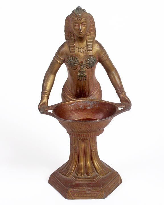 Egyptian revival incense burner. Average used condition