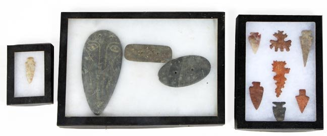 Various point and stone lot