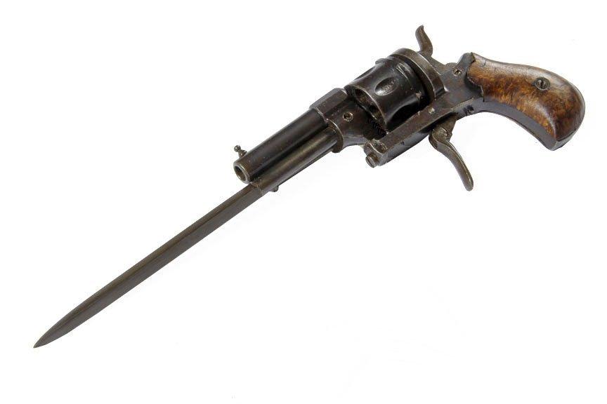 "Knife Gun- Fine condition, nut marker, 2"" barrel, 3"