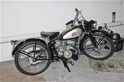 Famous James Motorcycle 1946