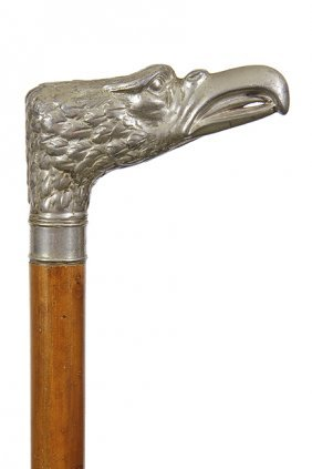 54. Anheuser Busch Advertising Cane- Early Twentieth
