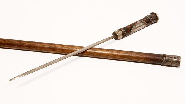 Klu Klux Klan Sword Cane-