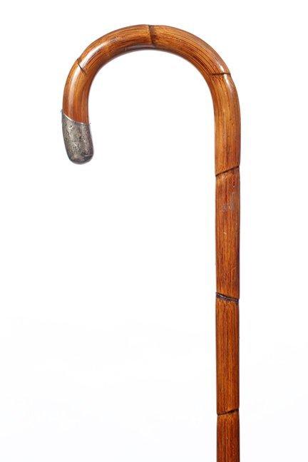 16. English Sword Cane- Ca. 1920- A faux bamboo