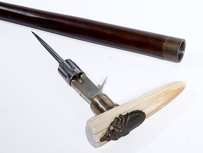24. Gun Cane- Early 20th century- This is a copy of